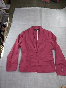 talbots collection womens mauve blazer pink professional career wear jacket 6P