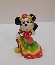 Minnie Mouse Senorita in Colorful Spanish Dancer Dress Vintage Disney Japan