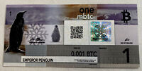 Polymerbit Note with .001 Bit Coin -Like Casascius, BTCC, Titan -Loaded & Funded