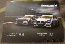 2016 bimmerworld BMW 328i ST IMSA CTSC postcard