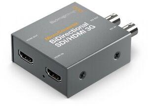 Blackmagic Micro Converter BiDirect ohne Netzteil SDI zu HDMI 3G Streaming-Zub