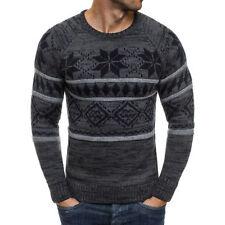 Maglioni e cardigan da uomo neri regolare in lana