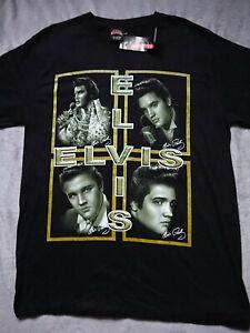 New Unisex Elvis Presley Signature XL T-Shirt Rock Star 100% cotton High Quality