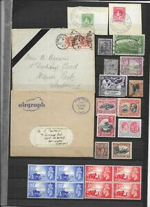 Commonwealth pre QE2 collection used,MNH and m/mint