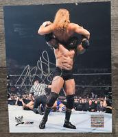 BOBBY LASHLEY WWE SIGNED AUTOGRAPHED 8X10 PHOTO