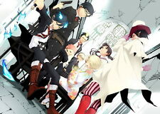 "18 Ao no Blue Exorcist - Japan Anime 20""x14"" Poster"