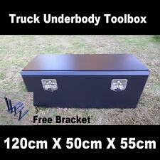 Premium Quality Steel Underbody Truck Pickup Ute Trailer Toolbox 120cm 50cm 55cm