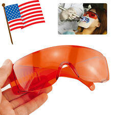 Goggle Glasses Lab Safety Dental Protective Eye f LED/UV Curing Light Whitening