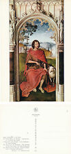 1970's St JOHN THE BAPTIST ADORATION OF THE MAGI BELGIUM UNUSED COLOUR POSTCARD