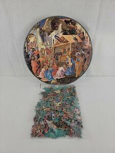 Vtg The Adoration of the Magi 1965 Springbok Circular 500+ Pc Jigsaw Puzzle C902