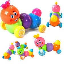 Lovely Caterpillar Baby Kids Inchworm Twist Forward Movement Clockwork Toy New