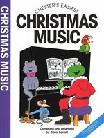 Chesters Easiest Christmas Music Learn to Play Carols Beginner EASY Piano Book