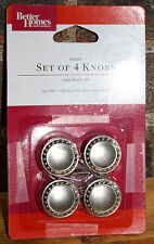20x Better Homes and Gardens Beaded Cabinet Drawer Knobs: Satin Nickel