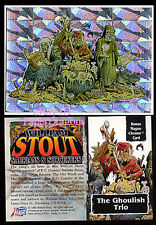 WILLIAM STOUT - Series 3 - Bonus Box Topper Chase Card - The Ghoulish Trio