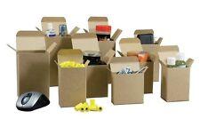 "25 4"" x 4"" x 4"" Reverse Tuck Mailer Cartons Kraft Folding Chipboard Box"