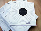 100 x 14cm PAPER Black & White Top Quality Air Rifle Pistol Shooting Targets