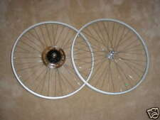 BICYCLE WHEEL SET 27 X 1 1/4  SAFETY FIT SCHWINN CONTINENTAL SUBURBAN ROADBIKES