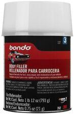 Bondo Auto Body Filler Lightweight Car Truck Quart Can 1 lb 12 oz Repair Restore