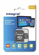 Integral 512GB Class 10 UHS-I U1 microSDXC Memory Card for SmartPhones & Tablets