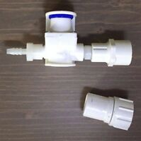 Chicken Pressure Reducer for PVC Poultry Cup Water System + Garden Hose Adapter
