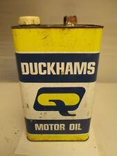 Duckhams gallon oil tin. motor oil. Shell. Esso.BP. garage.