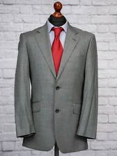 T.M.Lewin Men's 38R Grey Suit Wool Jacket