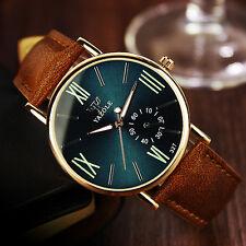 Fashion Men's Date Stainless Steel Sport Quartz Noctilucent Business Wristwatch