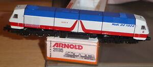 Arnold 2035 N Locomotive Diesel Br 240 Mak De 1024 Armoiries Ville Kiel, Erreur'