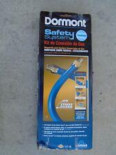 """GENUINE'' Dormont 16125KIT48 Dormont Blue Hose Moveable Gas Connector 1 1/4"""" 48"""
