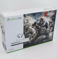 Microsoft Xbox One S Gears of War 4 Bundle 1TB White Console BRAND NEW
