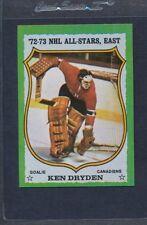 1973/74 Topps #010 Ken Dryden All Star NM *24