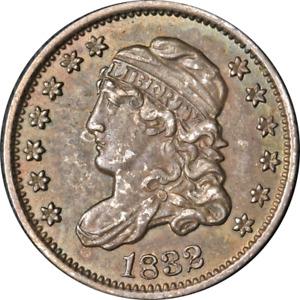 1832 Bust Half Dime Nice BU+ Nice Eye Appeal Nice Luster Strong Strike