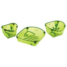 Fozzils Solo Pack Spring Green Folding Camping Dish Set