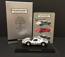 Kyosho 1/64 Porsche 904 GTS 1964 Diecast Car Model SILVER