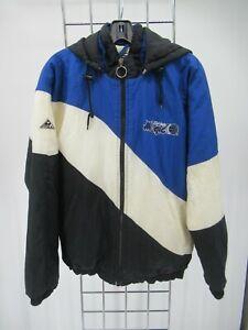 K8577 VTG Apex One NBA Orlando Magic Hooded Windbreaker Jacket Size XL
