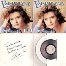 """CD Single Emmanuelle - DorothéeEt si un jour 2 Titres CD3"""" Pochette ouvrante"""