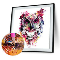 Elephant DIY 5D Diamond Painting Embroidery Animal Cross Stitch Kit Home Decor
