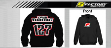 CUSTOM NAME AND NUMBER  HOODIE SWEAT SHIRT MX MOTOCROSS  Style #2