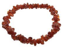 Hessonite Garnet Gemstone chip bracelet
