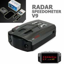 V9 Radar Detector Car Truck Speed Laser Lazer Cop Alarm Auto 360° Dc 12V 16Band