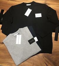 Calvin Klein Jeans Men's Crew Neck CK Sweatshirt Jumper Pullover GREY SMLXL