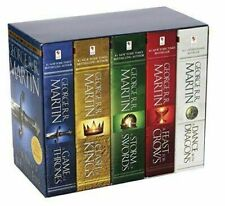 Game of Thrones 5-Copy Boxed Set , books, free shipping