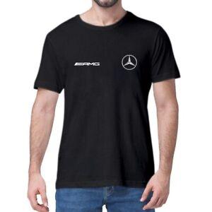 AMG LOGO Mercedes Benz T Shirt Summer Motorsport Men's Birthday Gift for him 611