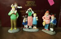 Dept 56 Disney Parks Village 1994 DISNEY PARKS FAMILY 3 Pc 53546 Retired 1996