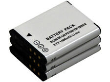 New 3 PIECE D-LI88 DB-L80 PX1686 VW-VBX070 Camera Battery For Optio H90 P70 P80
