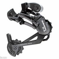 SRAM X4 MTB Mountain Bike Rear Mech Derailleur Black 7 / 8 Speed Long Cage 280g
