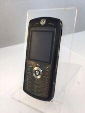 Incompleta Motorola L7 Negro Vodafone Teléfono Móvil