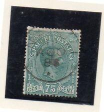 Italia Paquetes Postales Valor del año 1884-86 (DK-46)