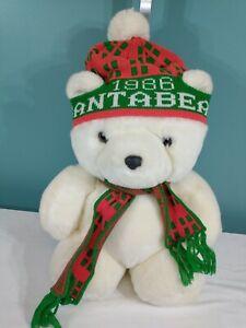 """1986 Dayton's Hudson Santa Bear w Original Bag ~18"""""""