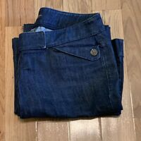New York and Co 8 Petite Jeans Denim Blue  Bootcut Women's Pants